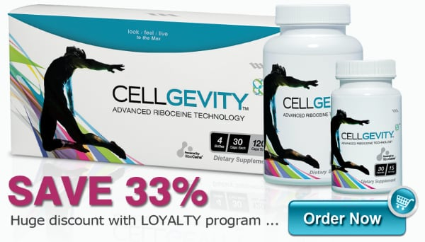 Get a huge 33% discount when you buy Cellgevity under the Loyalty program