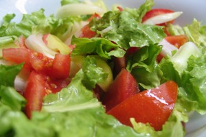 Fresh Salad is another glutathione supporting food group