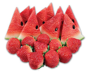 Glutathione foods include fresh fruit particularly strawberries and watermelon