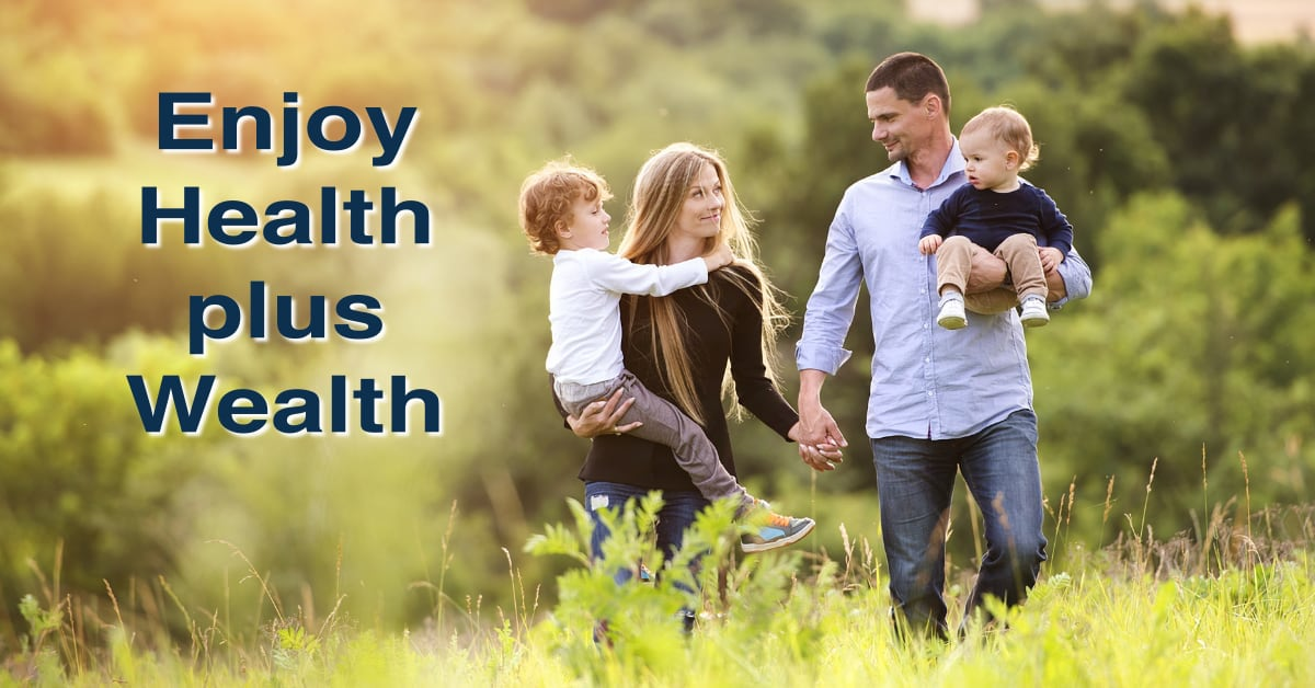Health plus Wealth enjoy both with Max International products