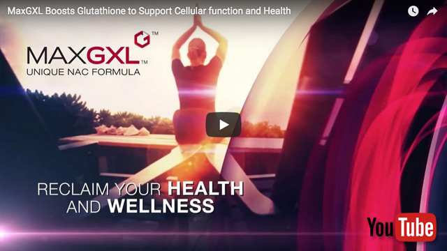 Youtube video MaxGXL provides powerful nutrients to help the body produce more glutathione for better health and more energy.